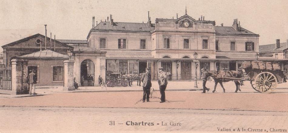 Gare de chartres 1936 2